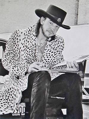 Stevie Ray Vaughan Photograph Art Print