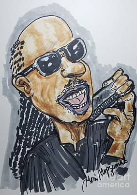 Travel - Stevie Wonder by Geraldine Myszenski