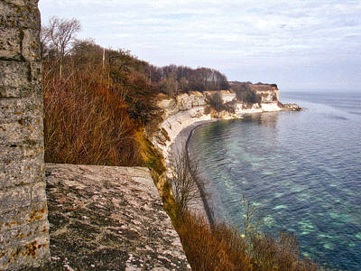Photograph - Stevns Klint by Ingrid Dendievel