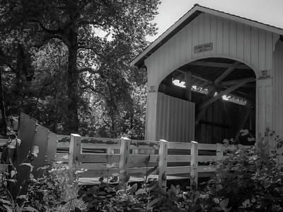 Mosby Photograph - Stewart Bridge by Michele James