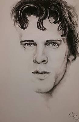 Musicians Drawings - Stewart Copeland by Tim Brandt