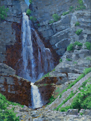 Painting - Stewart Falls by Stephen Bartholomew
