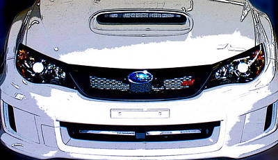 Subaru Rally Photograph - STI by Bryant Luchs