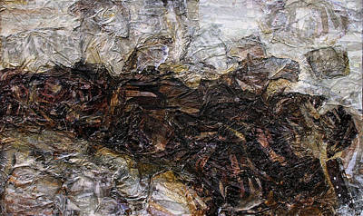Mud Mixed Media - Stick In The Mud by Scott Rolfe