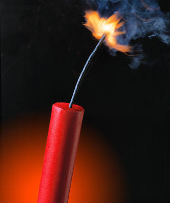 Photograph - Stick Of Dynamite by Douglas Pulsipher