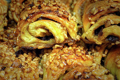 Photograph - Sticky Buns From The Amish Market by Bill Swartwout