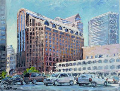 Downtown Painting - Stifel - Saint Louis by Irek Szelag