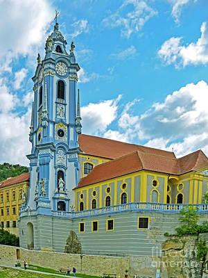 Durnstein Photograph - Stiftskirche Durnstein by Edita De Lima