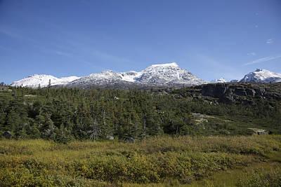 Photograph - Stikine Mountains 11 by Richard J Cassato
