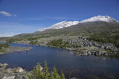 Photograph - Stikine Mountains 16 by Richard J Cassato