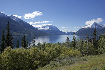Photograph - Stikine Mountains 5 by Richard J Cassato