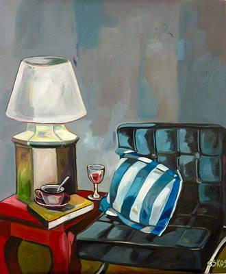 Stil Life Painting - Stil Life by Carmen Stanescu Kutzelnig