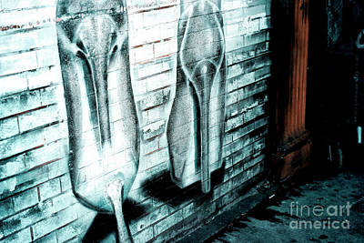 Photograph - Stilettos In The Bowery by John Rizzuto