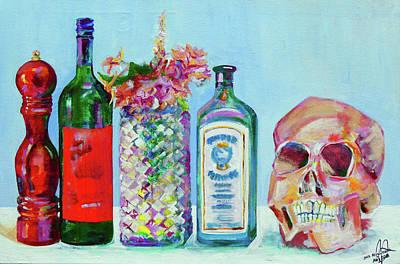 Painting - Still Alignment by Julia Zoellner