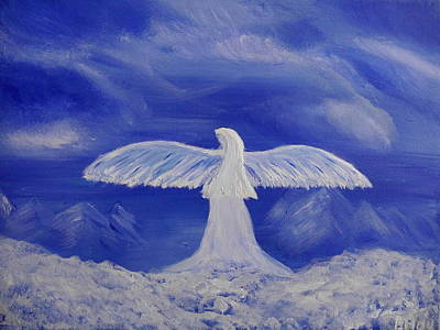 Painting - Still An Angel by Bernd Hau
