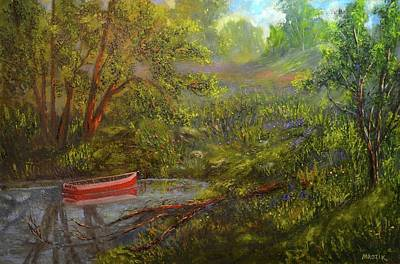 Painting - Still And Peaceful by Michael Mrozik