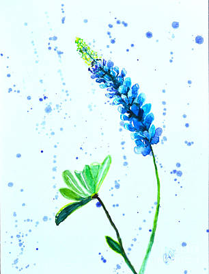 Nature Center Painting - Still Blooming by Christine Dekkers