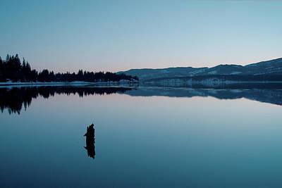 Photograph - Still Blue by Troy Stapek