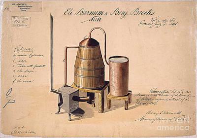 Drawing - Still Design Patent 1808 by Edward Fielding