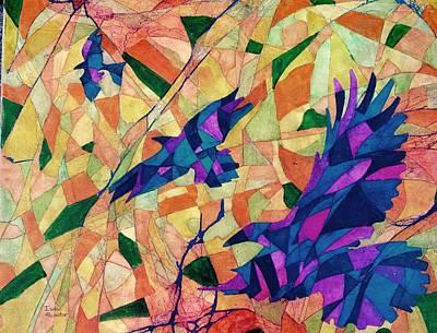 Mixed Media - Still Flying  by Isaac Alcantar