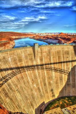 Photograph - Still Holding Glen Canyon Dam Grand Canyon National Park Art by Reid Callaway