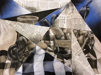 Ceramic Mixed Media - Still In Life by Alexandria  Becker