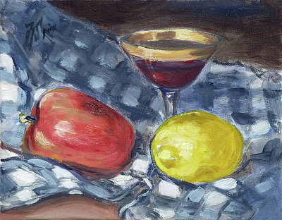 Painting - Still Life 1 by Irek Szelag