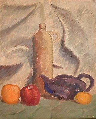 Still Life 1961 Art Print by Fred Jinkins