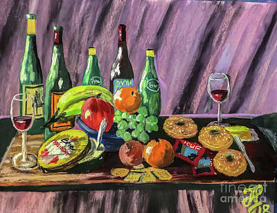 Painting - Still Life #2 by Francois Lamothe