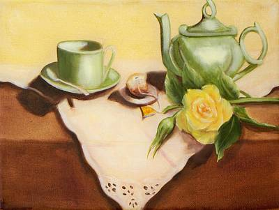 Rose Painting - Still Life 2 by Joni McPherson