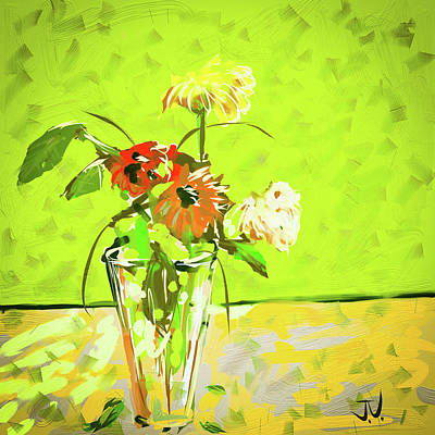 Digital Art - Still Life - 29apr2017 by Jim Vance