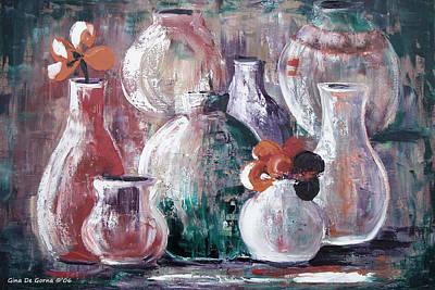 Painting - Still Life 3 by Gina De Gorna