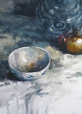 Bringing The Outdoors In - Still Life 3 by Tony Belobrajdic