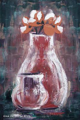 Painting - Still Life 4 by Gina De Gorna