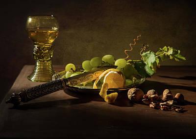 Photograph - Still Life A La Pieter Claesz by Levin Rodriguez