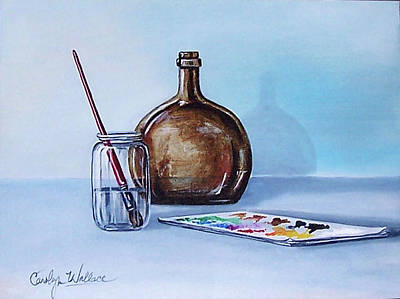 Still Life After Nc Wyeth 2 Art Print