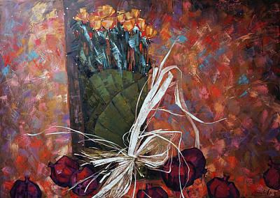 Painting - Still Life. Autumn Melody by Anastasija Kraineva