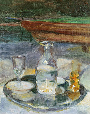 Bottle Painting - Still Life, Billiard, 1882 by Henri de Toulouse-Lautrec