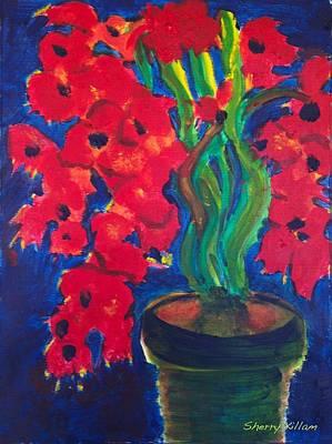Terra Painting - Still Life By Daylight by Sherry Killam