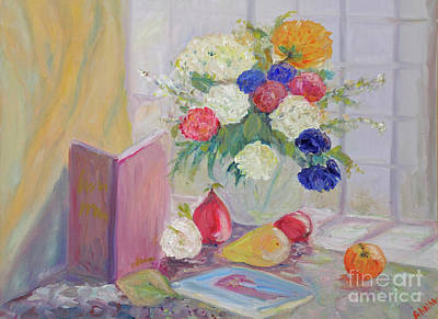 Still Life By Window Art Print