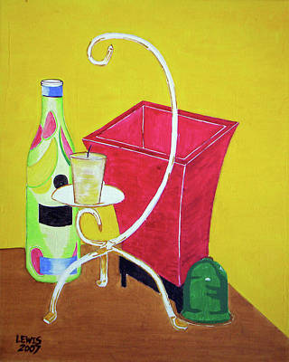 Still Life Art Print by Christopher Lewis