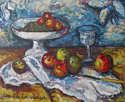 Painting - Still Life by Claudia Croneberger