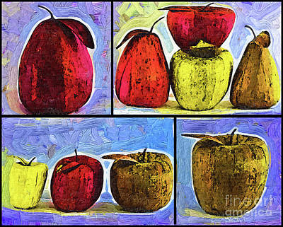 Digital Art - Still Life Collage by Kirt Tisdale