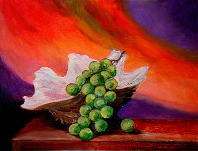 Painting -  Still Life  by Constantinos Charalampopoulos