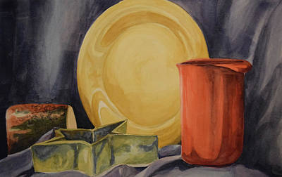 Painting - Still Life by Emily Maynard