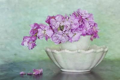Digital Art - Still Life Flowers by Kim Swanson