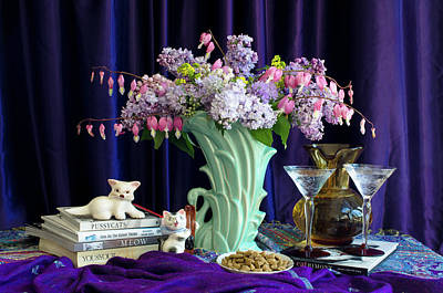 Wall Art - Photograph - Still Life For Cats by Wendy Blomseth