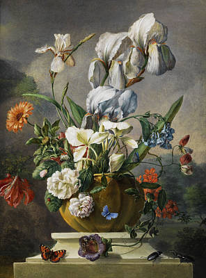Ceramics Painting - Still Life by Franz Xaver Gruber