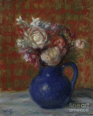 Painting - Still Life French Bouquet, 1927 by William James Glackens