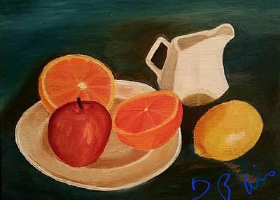 Still Life Fruit Art Print by Diann Blevins
